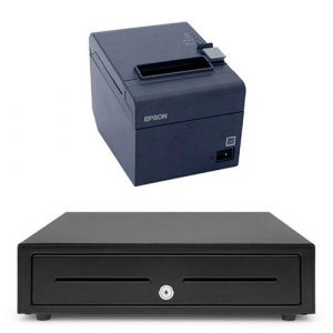 KryptoPOS Epson TM T82 & Cash Drawer