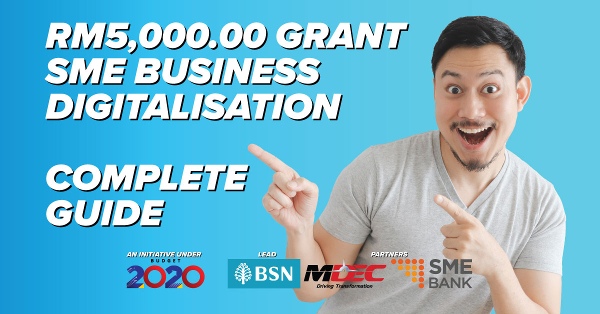 KryptoPOS Blog RM5000 SME Digitalisation Grant Complete Guide