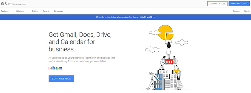 Tools & Apps KryptoPOS Use To Work Remotely Google GSuite