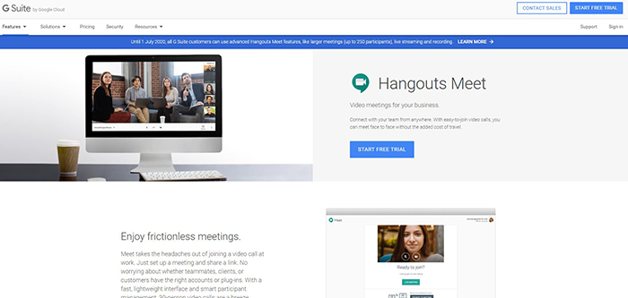 Tools & Apps KryptoPOS Use To Work Remotely Google Hangout Meet